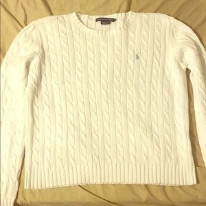 Women's XL Cable Knit Sweater
